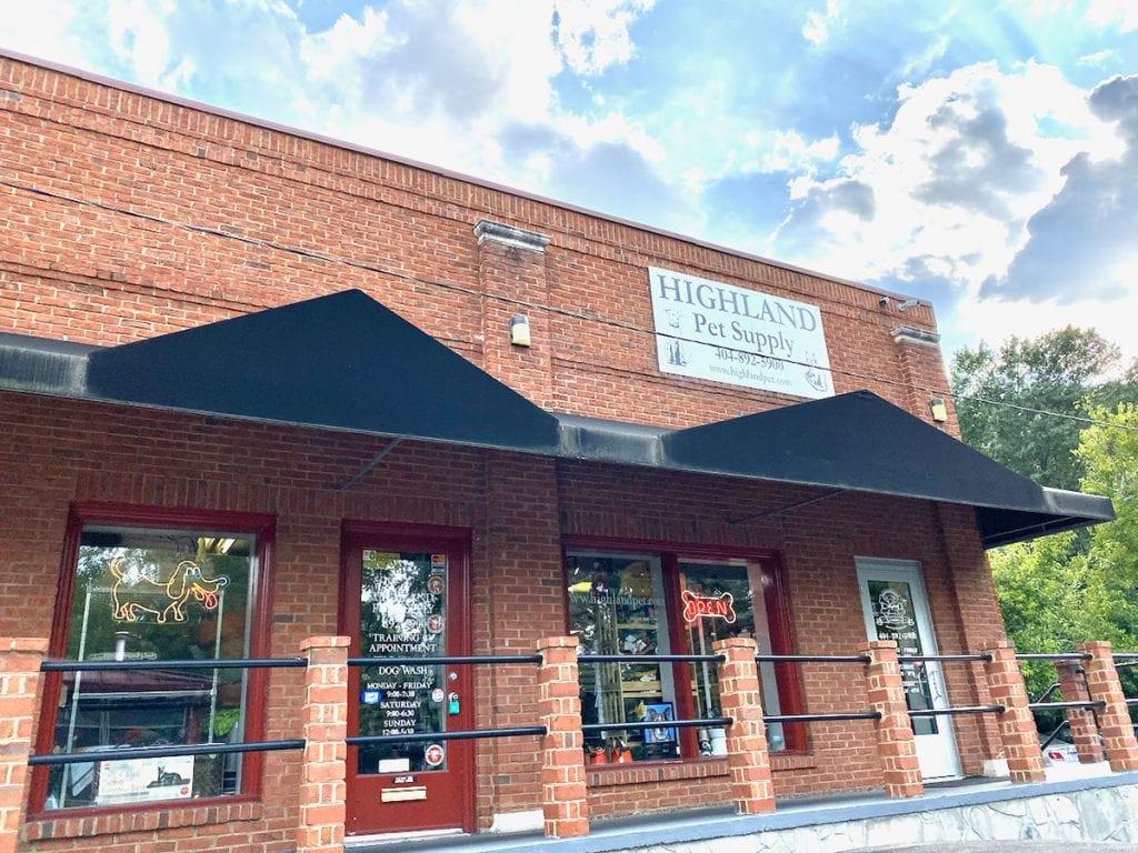 Highland Pet Supply storefront