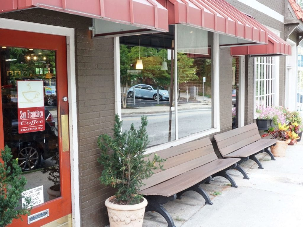 San Francisco Coffee Roasting Co storefront