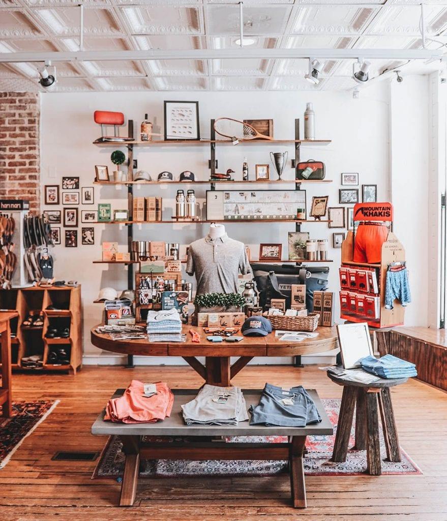 Empire South Retail Interior